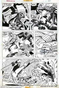 Ross Andru and Frank Giacoia - Original Art for The Amazing Spider-Man #142 (Marvel, 1975). Mysterio has pulled this tri...
