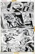 Original Comic Art:Splash Pages, Ross Andru and Mike Esposito - Original Art for Giant-SizedSpider-Man #4, page 2 (Marvel, 1975). Spectacular three-panel pa...