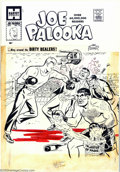 Original Comic Art:Covers, Al Avison - Original Cover Art for Joe Palooka #112 (Harvey, 1960).Boxing champ Joe Palooka finds himself in a ring that re...