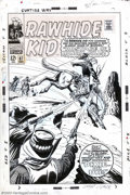 Original Comic Art:Covers, Larry Lieber - Original Cover Art for Rawhide Kid #67 (Marvel,1968). Considering that Silver Age covers are among the most ...