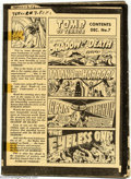 """Original Comic Art:Miscellaneous, Production Art - """"Dummy"""" Assembly for Tomb of Terror #7 (All Stats)(Harvey, 1953). A black-and-white temporary assembly (ca..."""