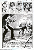 Original Comic Art:Splash Pages, Curt Swan and Larry Mahlstedt - Original Art for Superman #422,page 2 (DC, 1986). The gang of thugs chasing this seemingly ...