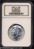 Kennedy Half Dollars: , 1969-D MS65 NGC. ...
