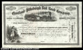 Miscellaneous:Stocks and Bonds, 18__ Unissued Cleveland and Pittsburgh Rail Road Company, Gem ...