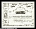 Miscellaneous:Stocks and Bonds, 18__ Unissued Northern Division of the Pittsburg (sic) & Erie ...