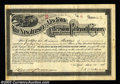 Stocks and Bonds:Railroad Certificates, New Jersey and New York Extension Railroad Company (New ...
