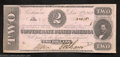 Confederate Notes:1862 Issues, 1862 $2 Judah P. Benjamin, T-54, Extremely Fine-About ...