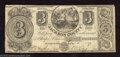 Obsoletes By State:Michigan, 1837 $3 The Jackson County Bank, Jacksonburgh, MI, Fine-Very ...