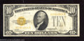 Small Size:Gold Certificates, 1928 $10 Gold Certificate, Fr-2400, Very Fine. This is a nice ...