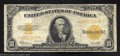 Large Size:Gold Certificates, 1922 $10 Gold Certificate, Fr-1173, Fine-Very Fine. This gold ...