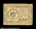 Colonial Notes:Continental Congress Issues, Continental Currency November 29, 1775 $8 Fine. The ...