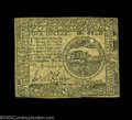 Colonial Notes:Continental Congress Issues, Continental Currency July 22, 1776 $4 Choice Extremely Fine.