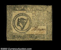 Colonial Notes:Continental Congress Issues, Continental Currency April 11, 1778 $8 Choice Extremely Fine....