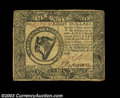 Colonial Notes:Continental Congress Issues, Continental Currency April 11, 1778 $8 Choice Very Fine. ...