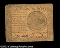 Colonial Notes:Continental Congress Issues, Continental Currency September 26, 1778 $60 Choice Very Fine....