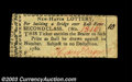 Colonial Notes:Connecticut, Connecticut New Haven Lottery 1780 About New. This ticket ...