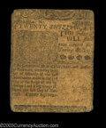 Colonial Notes:Delaware, Delaware May 1, 1758 20s Choice Fine. Well circulated but ...