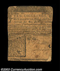 Colonial Notes:Delaware, Delaware June 1, 1759 10s Fine. The corners are rounded, ...