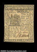 Colonial Notes:Delaware, Delaware May 1, 1777 20s Very Choice New. Quite close to ...