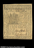 Colonial Notes:Delaware, Delaware May 1, 1777 20s Extremely Fine. Beautifully ...