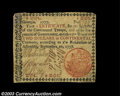 Colonial Notes:Georgia, Georgia September 10, 1777 $2 Very Fine-Extremely Fine. A ...