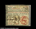 Colonial Notes:Georgia, Georgia September 10, 1777 $4 Extremely Fine, Restored. A ...