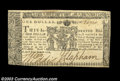 Colonial Notes:Maryland, Maryland April 10, 1774 $1 About New. A common note, but ...