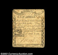 Colonial Notes:Massachusetts, Massachusetts 1779 1s About Very Fine. A well circulated ...
