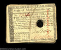 Colonial Notes:Massachusetts, Massachusetts May 5, 1780 $8 Canceled Bundle of 36. This ... (36notes)
