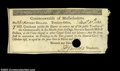Colonial Notes:Massachusetts, Massachusetts December 10, 1781 $16 Choice Extremely Fine. ...