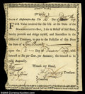 Colonial Notes:Massachusetts, Massachusetts Committee War Note. Listed in Anderson as MA ...