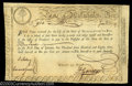 Colonial Notes:Massachusetts, Massachusetts 1779 Fiscal Paper.These six-percent Treasury ...