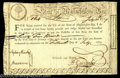 Colonial Notes:Massachusetts, Massachusetts 1779 Advance Pay to Officers Six Percent ...