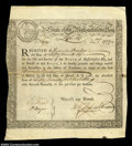 Colonial Notes:Massachusetts, Massachusetts Treasury Certificate. Listed as MA-10 in ...