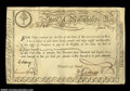 Colonial Notes:Massachusetts, 1779 Massachusetts Interest Certificate. Issued to lottery ...