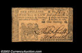 Colonial Notes:New Jersey, New Jersey December 31, 1763 1s New. Very closely margined ...