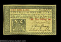 Colonial Notes:New Jersey, New Jersey March 25, 1776 1s Gem New. A well margined, ...