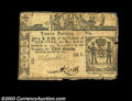 Colonial Notes:New York, New York February 16, 1771 L3 Fine. There are some tape ...