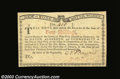 Colonial Notes:New York, New York January 6, 1776 4s Choice New. A nice Water Works ...