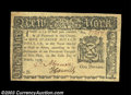 Colonial Notes:New York, New York March 5, 1776 $1 Choice About New. Beautifully ...