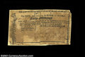 Colonial Notes:New York, City and County of Albany June 22, 1775. Two low grade ... (2notes)