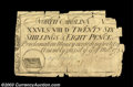 Colonial Notes:North Carolina, North Carolina March 9, 1754 26s8d Very Fine, damaged. All ...