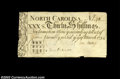 Colonial Notes:North Carolina, North Carolina March 9, 1754 30s Extremely Fine. An ...