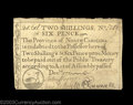 Colonial Notes:North Carolina, North Carolina December 1771 2s6d Extremely Fine. Closely ...