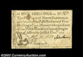Colonial Notes:North Carolina, North Carolina December 1771 5s Very Fine. There is a ...