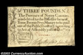 Colonial Notes:North Carolina, North Carolina December 1771 L3 Very Fine, Damaged. The ...