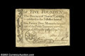 Colonial Notes:North Carolina, North Carolina December 1771 L5 Extremely Fine. The ...