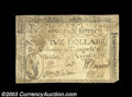 Colonial Notes:North Carolina, North Carolina April 2, 1776 $5 Extremely Fine. The note ...