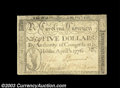 Colonial Notes:North Carolina, North Carolina April 2, 1776 $5 Extremely Fine. A second ...