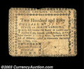 Colonial Notes:North Carolina, North Carolina May 10, 1780 $250 Very Fine. There is a ...